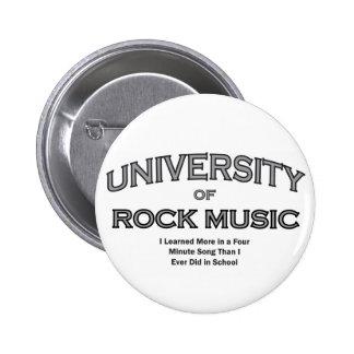 MUSIC-ROCK MUSIC PINBACK BUTTON