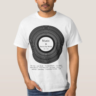 """Music Rocks My World"" T-Shirt"