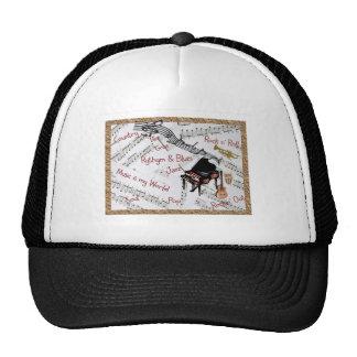 Music Rocks Trucker Hat