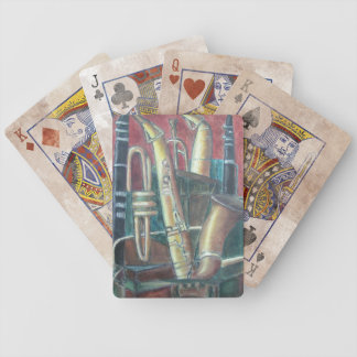 Music Room Bicycle Playing Cards