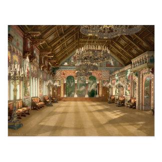 Music Room Neuschwanstein Castle Germany Postcard