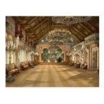 Music Room Neuschwanstein Castle Germany Postcards