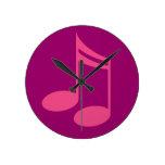 Music Room Treble Clef Band or Choir Clock