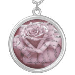 Music rose necklace