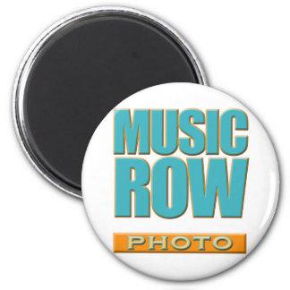 Music Row Photo Fridge Magnet
