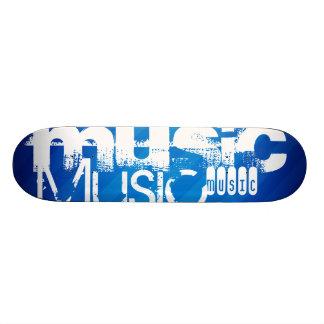 Music; Royal Blue Stripes Skate Boards