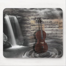 music royal mouse pad