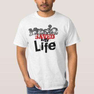Music Saved My Life - Customized T-Shirt