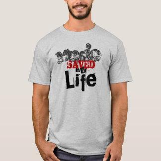 Music Saved My Life T-Shirt