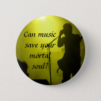 Music saves button