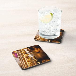 Music - Sax - Sweet jazz Beverage Coaster