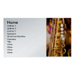 Music - Sax - Sweet jazz Double-Sided Standard Business Cards (Pack Of 100)