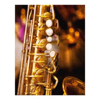 Music - Sax - Sweet jazz Full Color Flyer