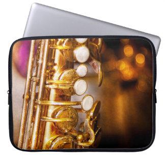 Music - Sax - Sweet jazz Laptop Sleeves
