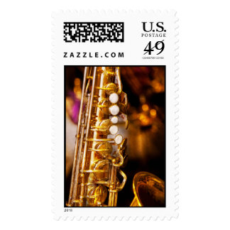 Music - Sax - Sweet jazz Stamps