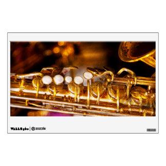 Music - Sax - Sweet jazz Wall Sticker