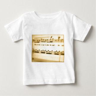 Music Score Art Gifts Baby T-Shirt