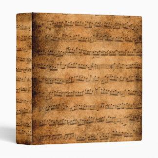 Music score binder