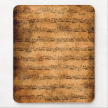 Music score - mousepad