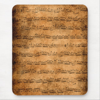Music score - mousepad