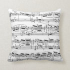 Music Score Pillow 2