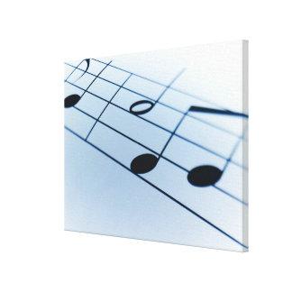 Music Sheet 2 Canvas Print