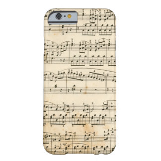 Music sheet barely there iPhone 6 case