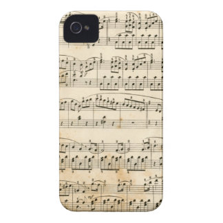 Music sheet iPhone 4 covers