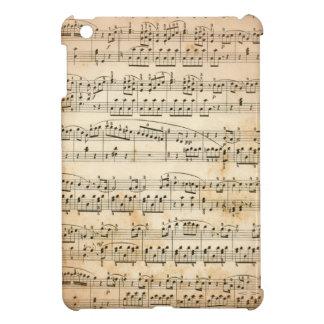 Music sheet iPad mini cases
