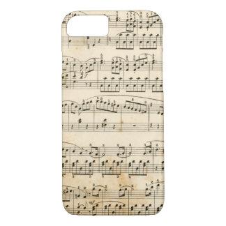 Music sheet iPhone 7 case