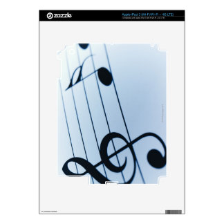 Music Sheet iPad 3 Decal