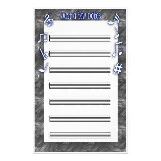 music sheet stationery