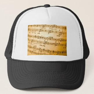 Music Sheet Trucker Hat