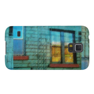 Music Shop Back Window 3 Galaxy S5 Cover