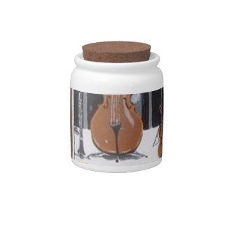 Music Shop Candy Jars