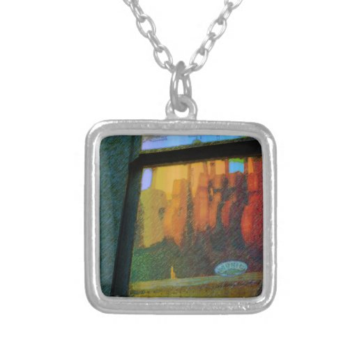 Music Shop Two Personalized Necklace