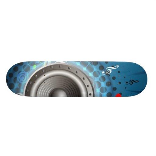 Music Skate Deck