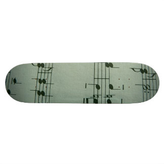 Music Skateboard Deck