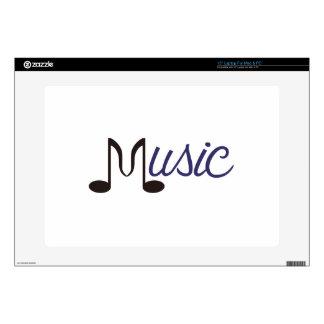 Music Laptop Decal