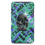 Music Skull Barely There iPod Covers