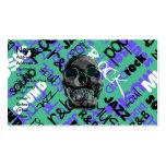 Music Skull Business Card Template
