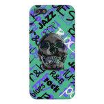 Music Skull iPhone 5 Cases