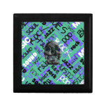 Music Skull Jewelry Boxes