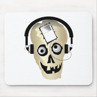 Music Skull Mouse Pad