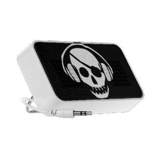 Music Skull iPod Speakers