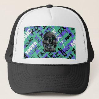 Music Skull Trucker Hat