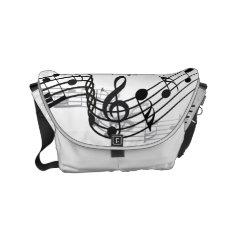 Music Small Messenger Bag at Zazzle