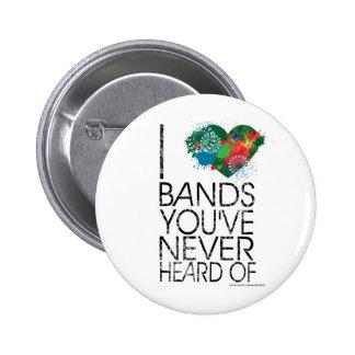 Music Snob Pins