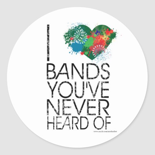 Music Snob Classic Round Sticker