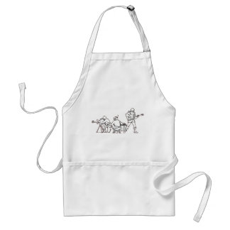 Music Soldiers Adult Apron